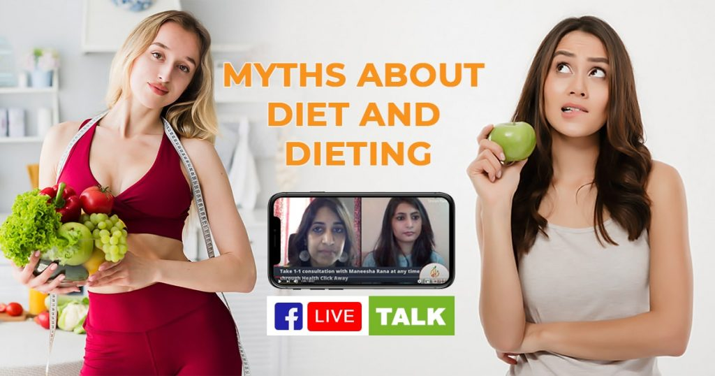 Myths about Diet and Dieting